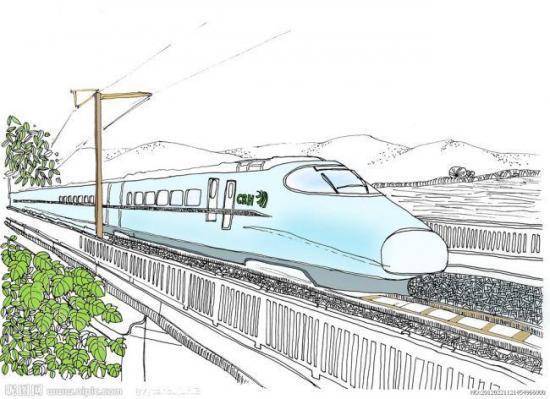 高铁结构设计图